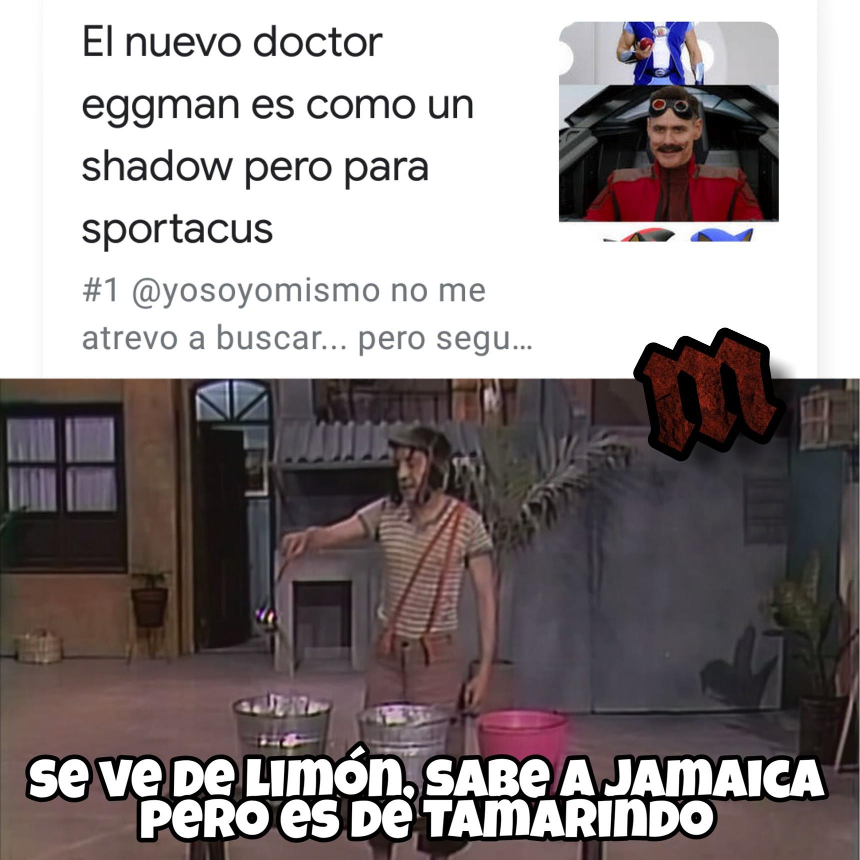 SportaEggman el Puercoespin - meme
