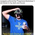 Happy doughnut noises