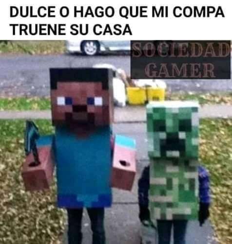 Minecraft es mejor q fornai - meme