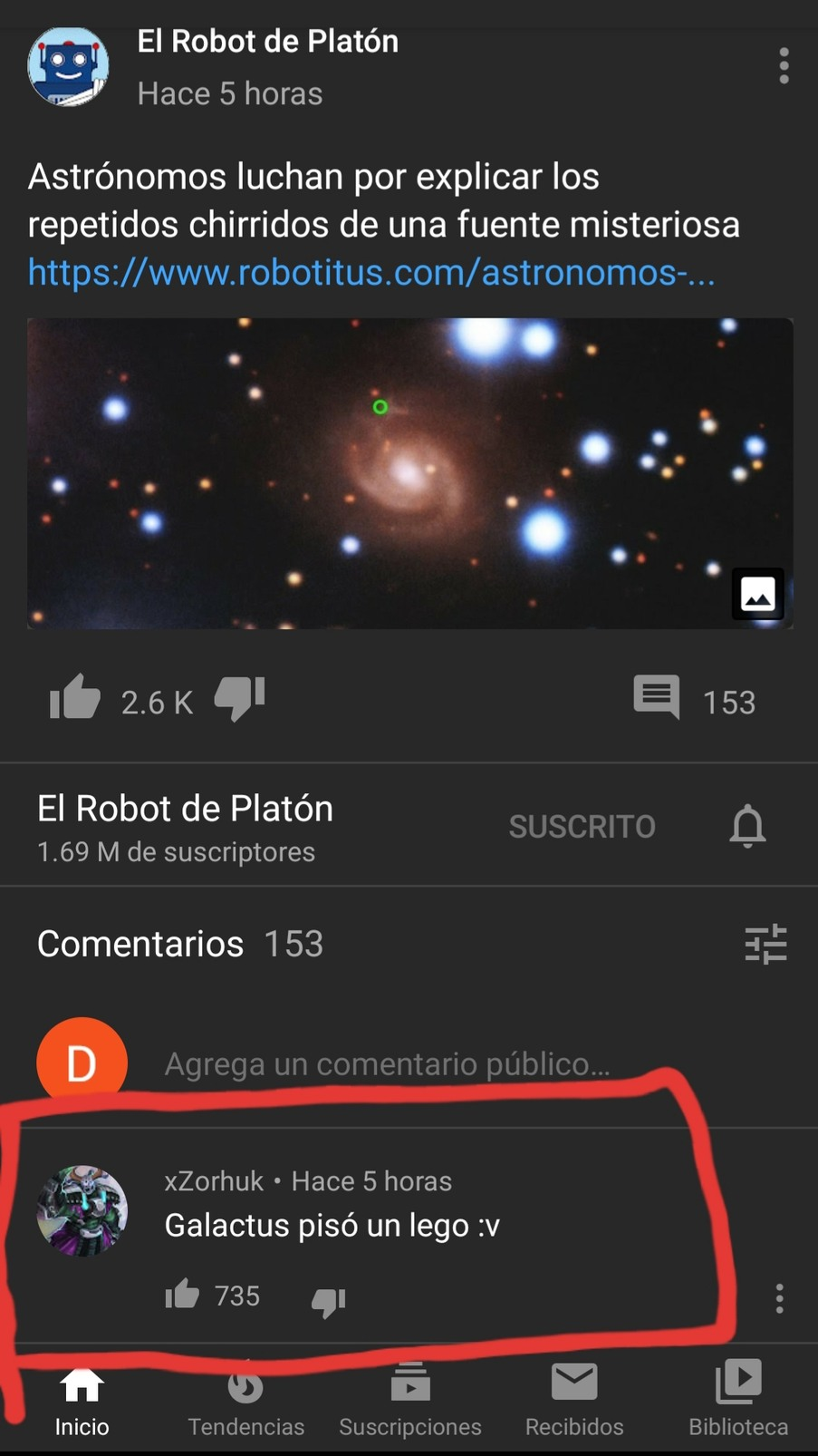 El canal del peruano que sabe cosas - meme
