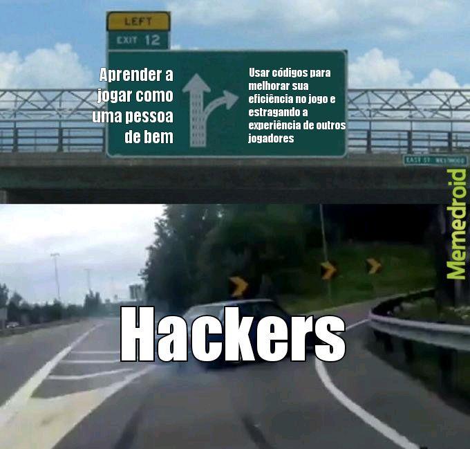 Como é a mente de um hacker - meme