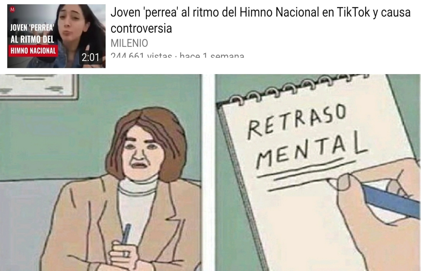 Retraso mental - meme