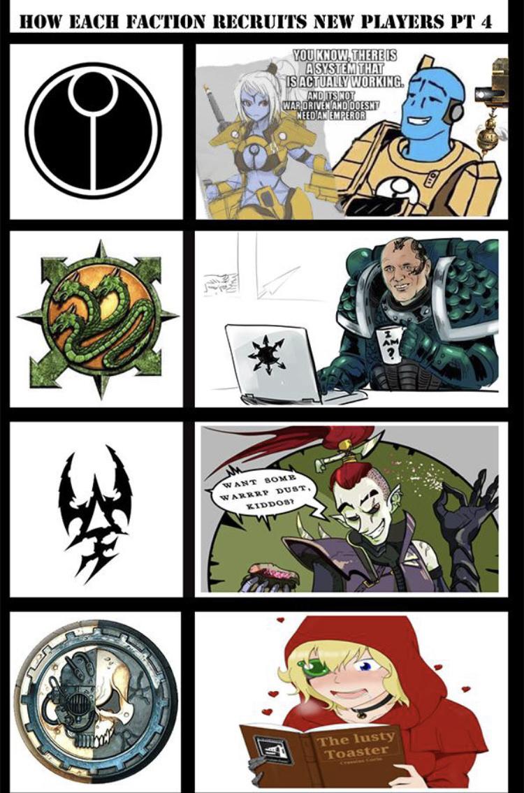 Warhammer 40,000 meme