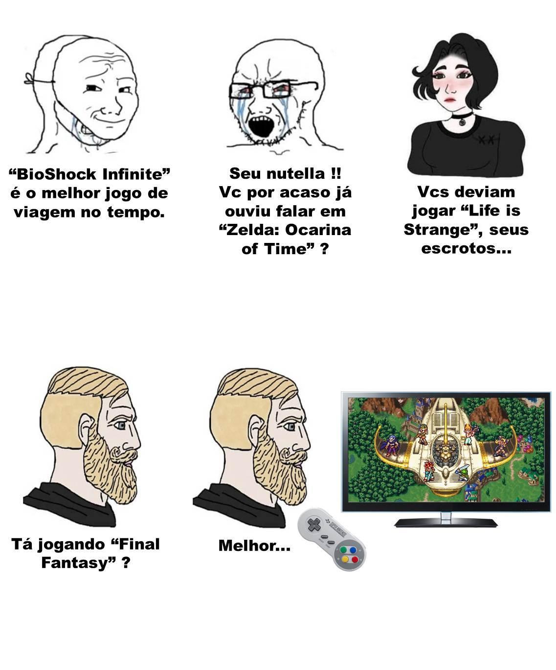Chrono Trigger é o melhor !!! - meme