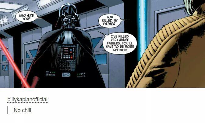 Vader is savage - meme