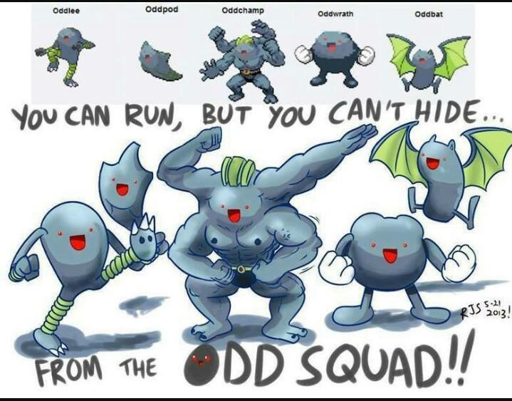 Escuadron oddish - meme