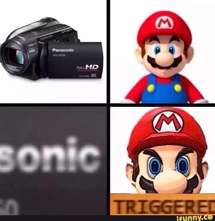 TRGERED - meme