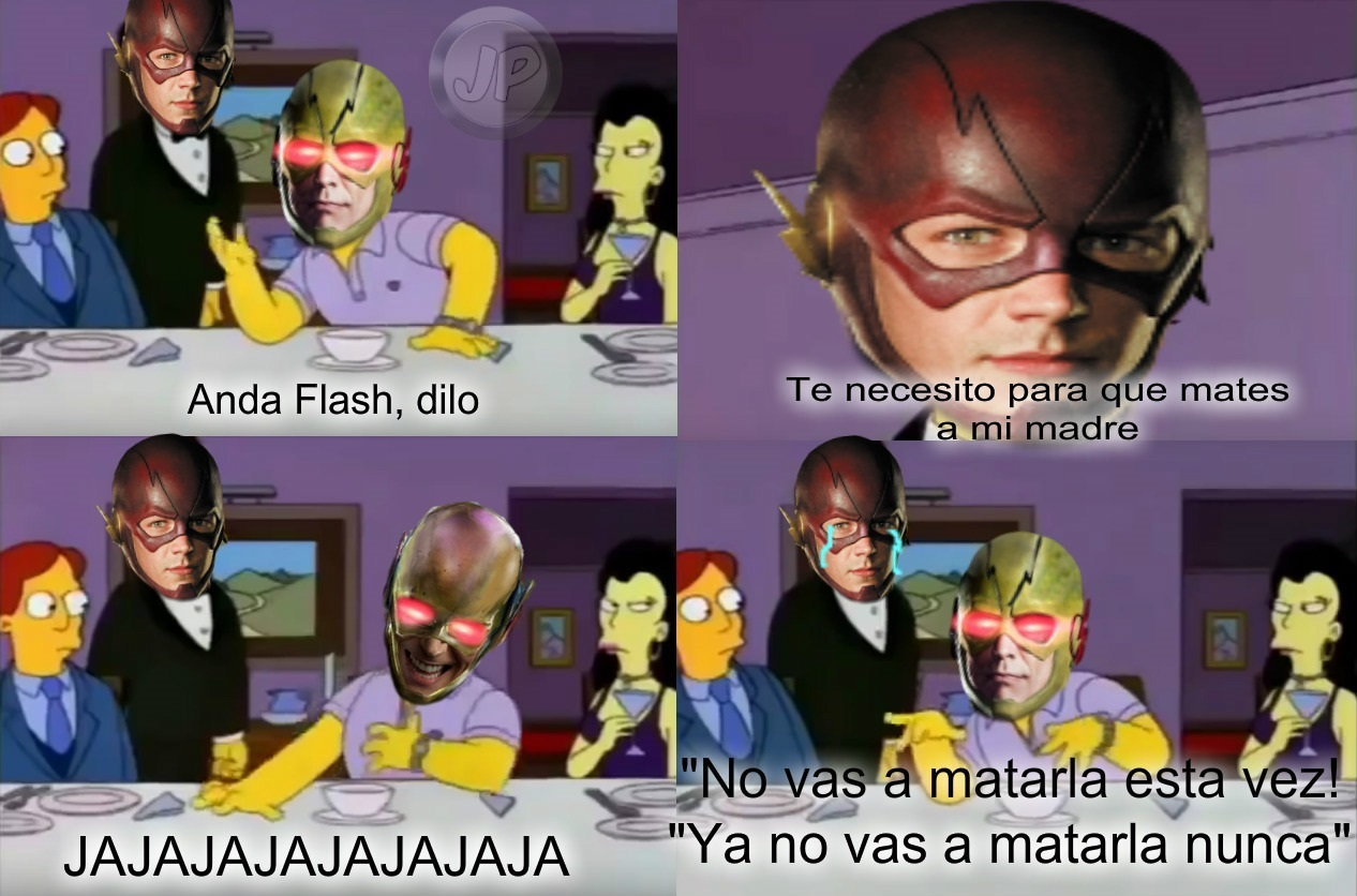 Pobre barry - meme