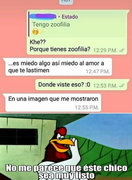 Zoofilia? - meme