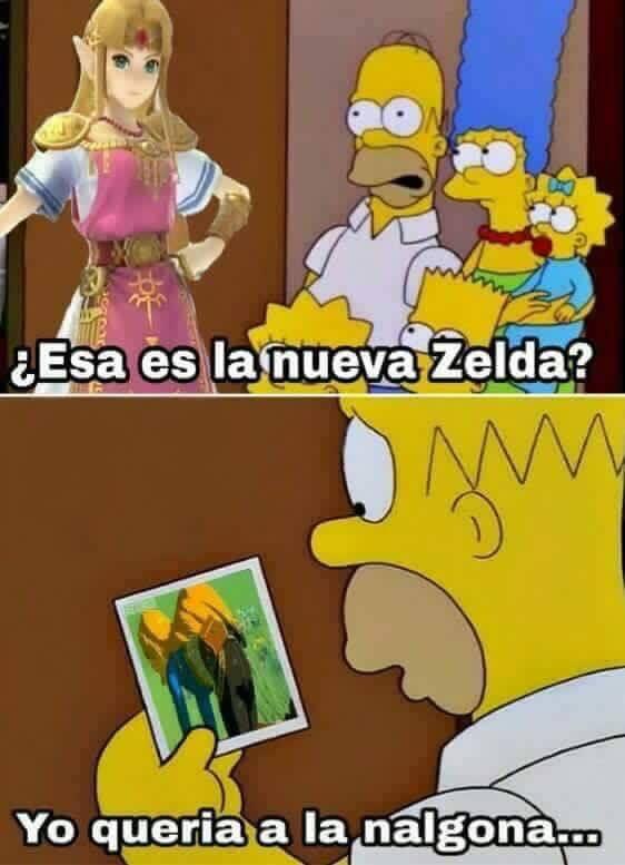 quiero el zelda - meme