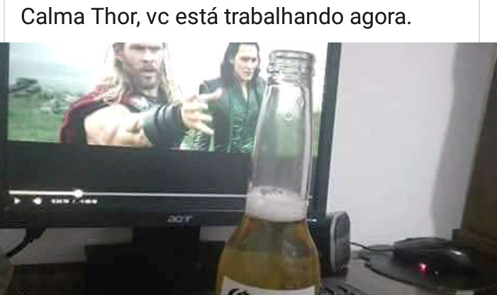Calma thor - meme