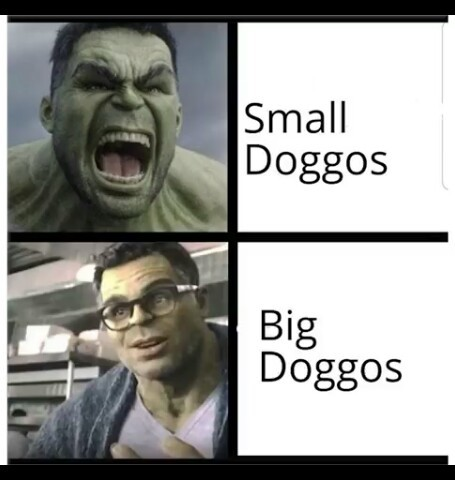 Green doggos - meme