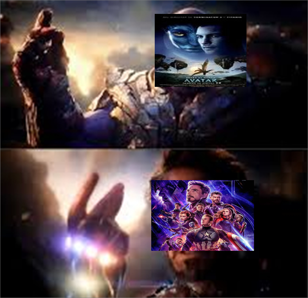 avengers supera a avatar!! - meme