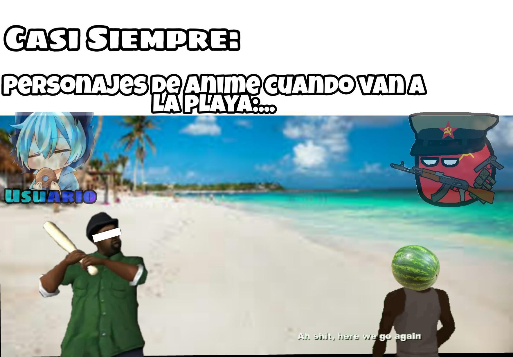 Los animes medio clichés por ejemplo... :happy: - meme