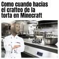 Meme sobre Minecraft, espero que les guste.