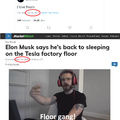 Elon Musk is floor gang