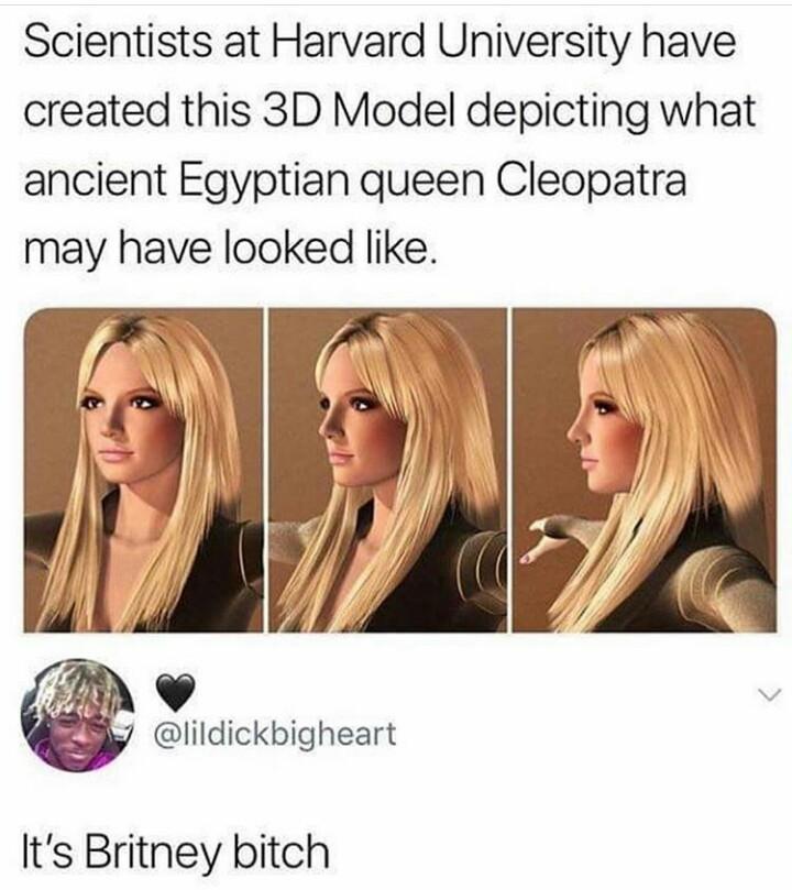 She must've been a hottie - meme