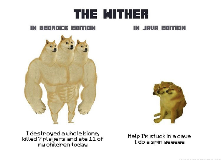 wither - meme