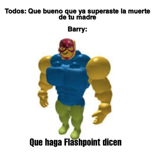 Este Barry... - meme