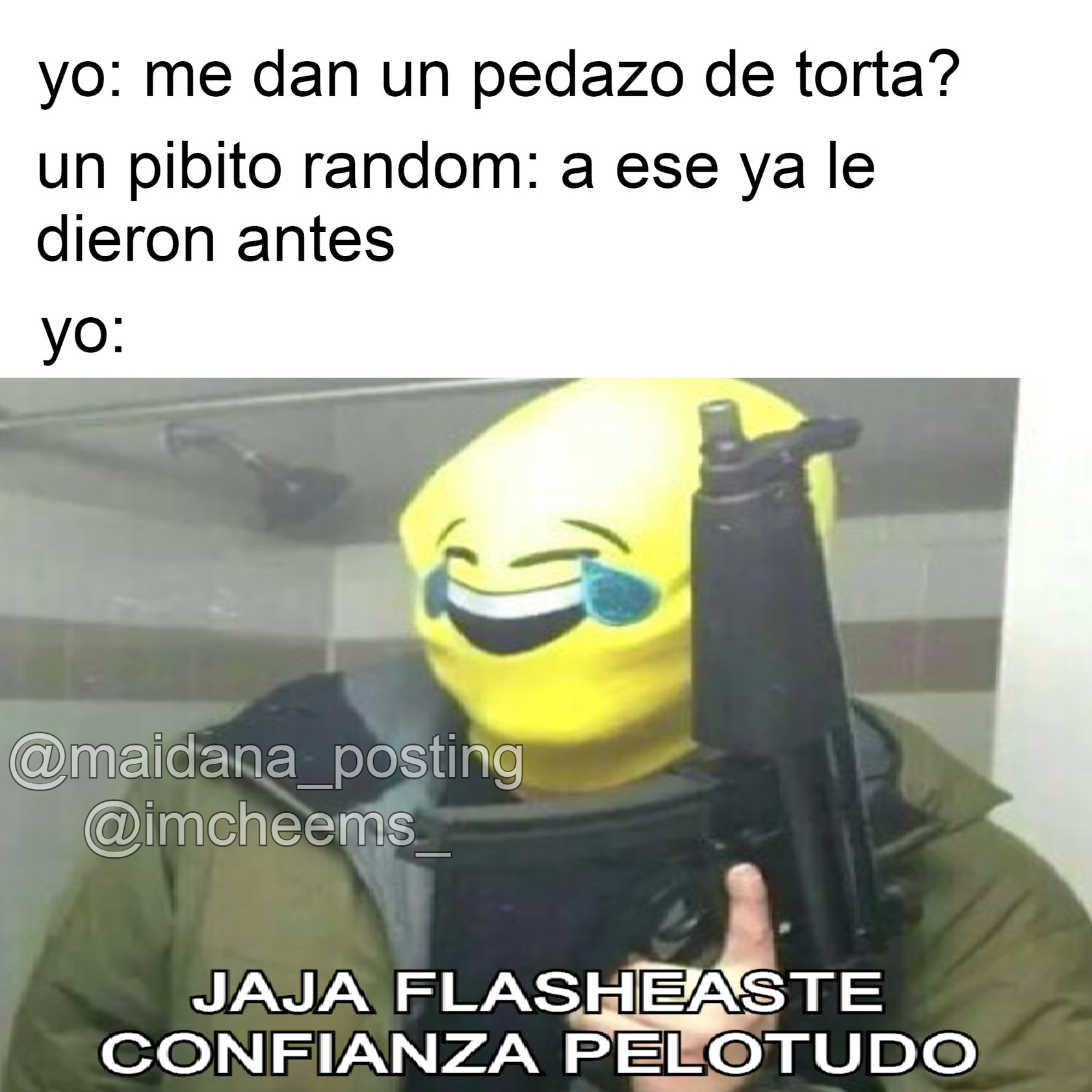 Jaja re flashaste - meme