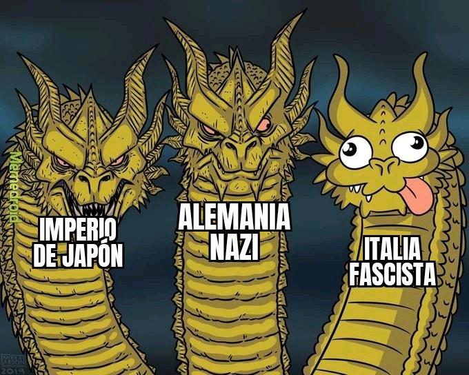 Potencias del eje - meme