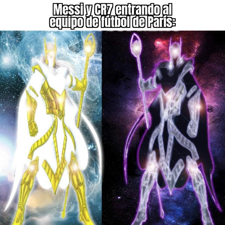 Dos dioses en un mismo equipo... Eso lo tengo que ver - meme