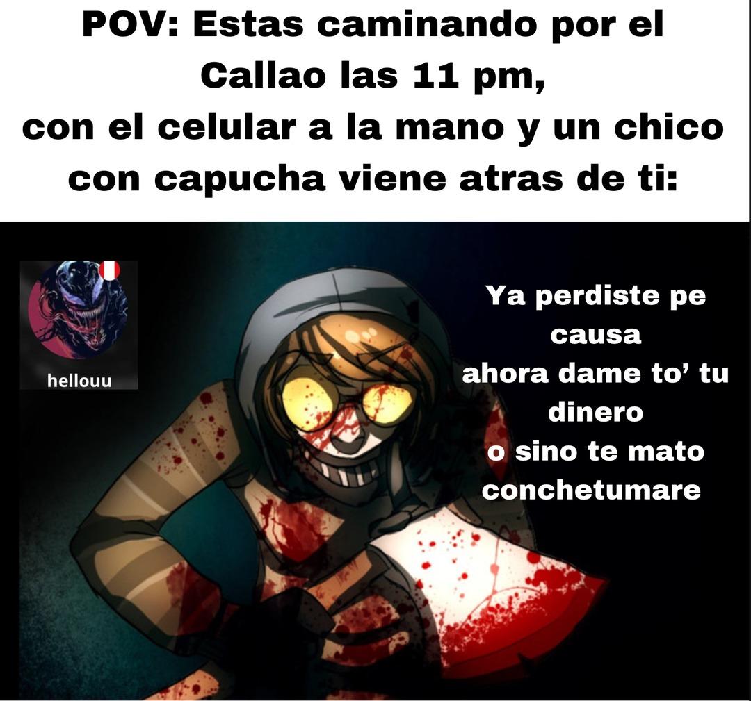peruanos entenderán jaja - meme