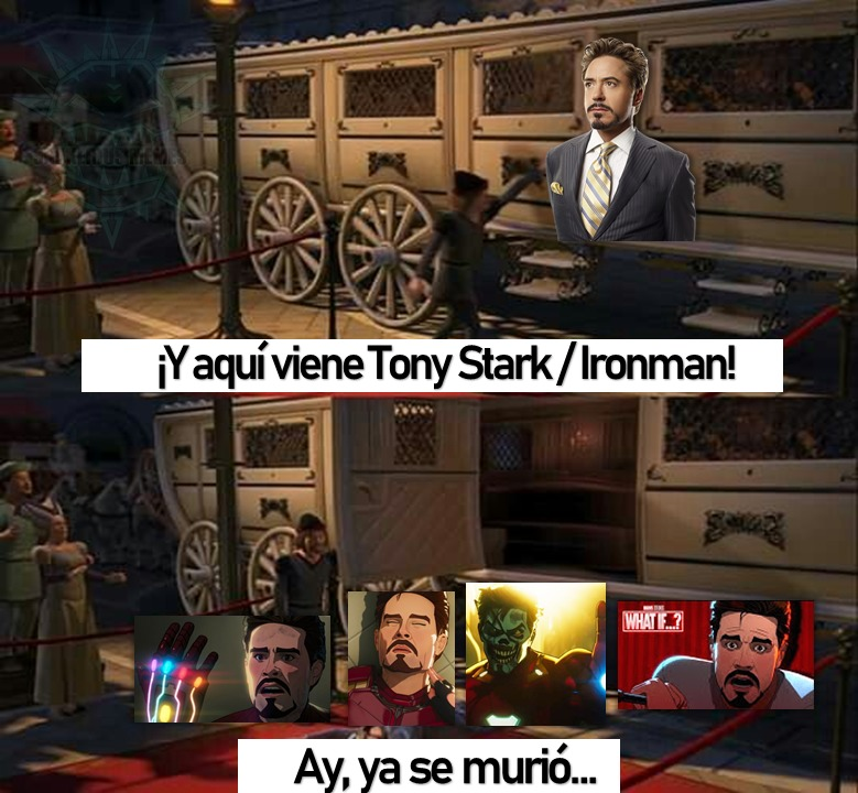 *procede a decir que ironman es el krillin de marvel por centesima vez* - meme