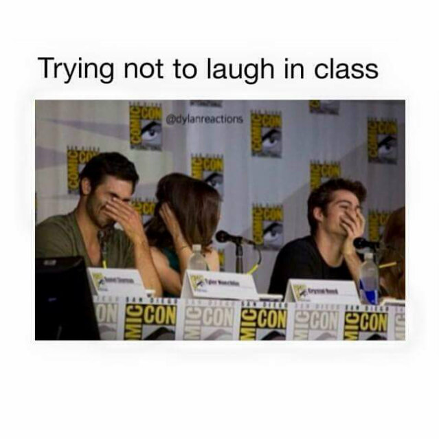 Don't laugh - meme