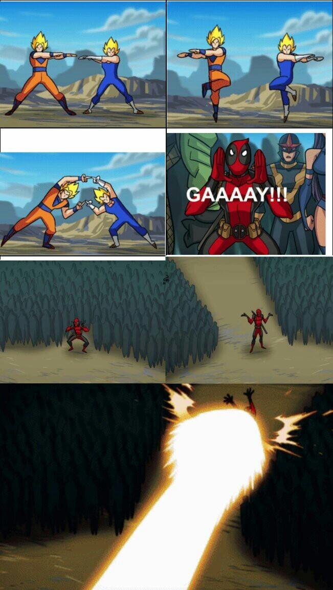 Simplemente Deadpool - meme