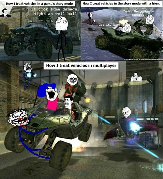 Halo Multiplayer is soooooo amazing - meme