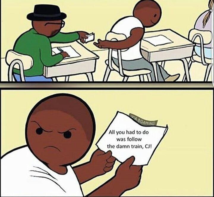 damn CJ - meme