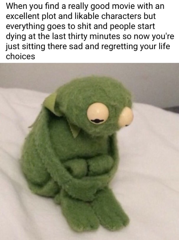 was not ready for them feels - meme