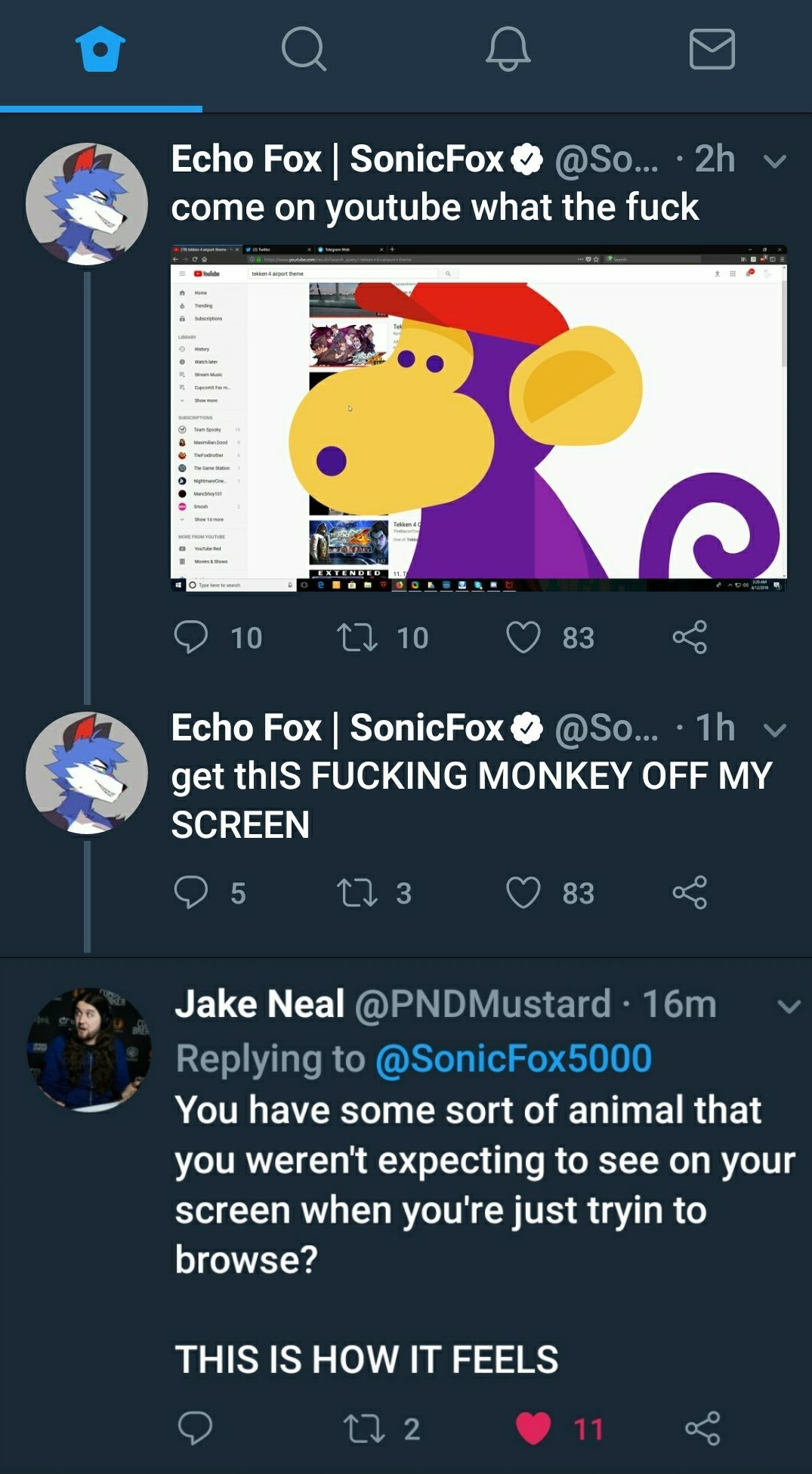 I love Sonic Fox - meme