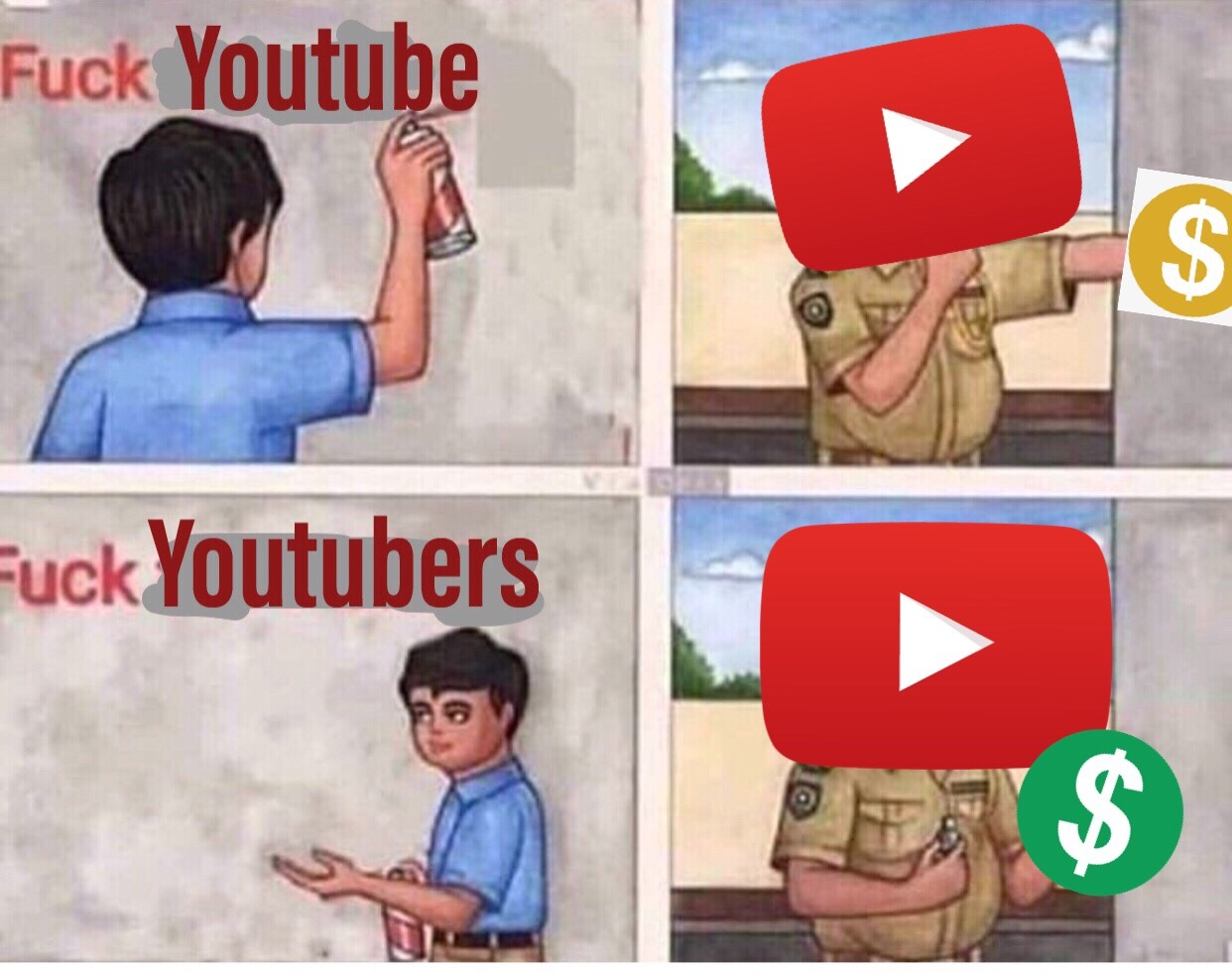 YouTube should die tbh - meme