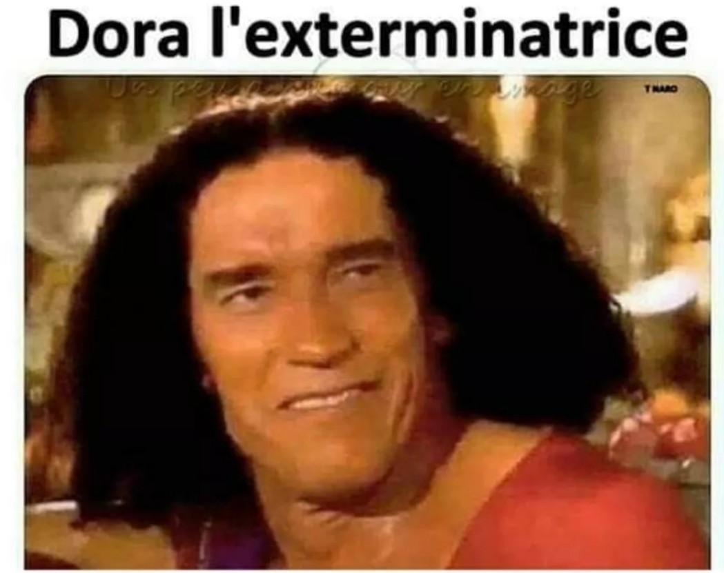 """Après """"Dora la Destructrice"""" je vous présente : - meme"""