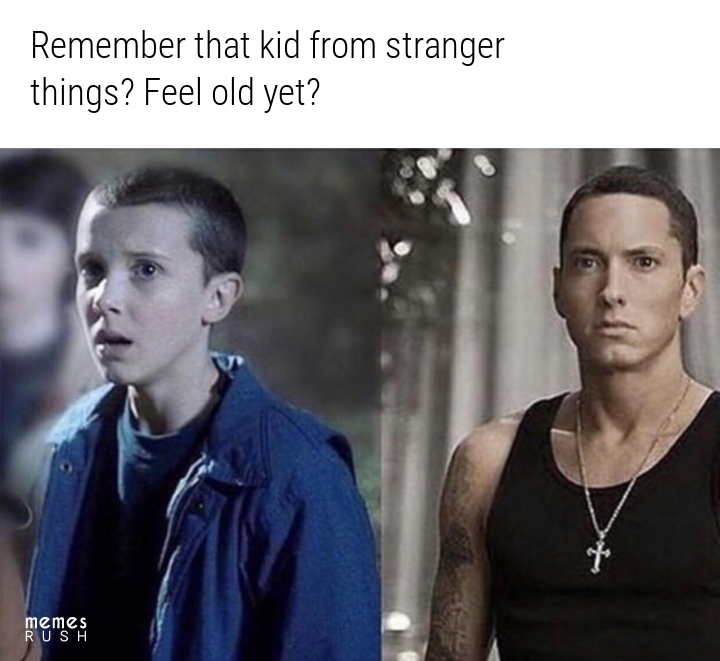 Eleven (The wierdo) = eminem - meme