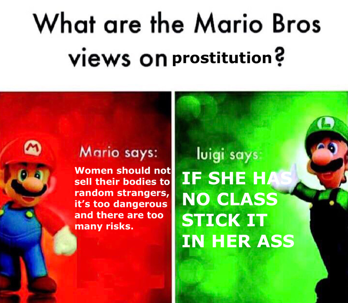 Luigi be like - meme