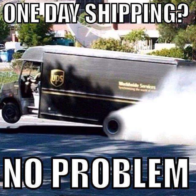 Amazon got the UPS drivers like... - meme