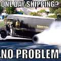 Amazon got the UPS drivers like...