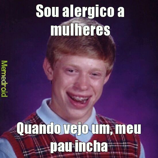 Alergia - meme