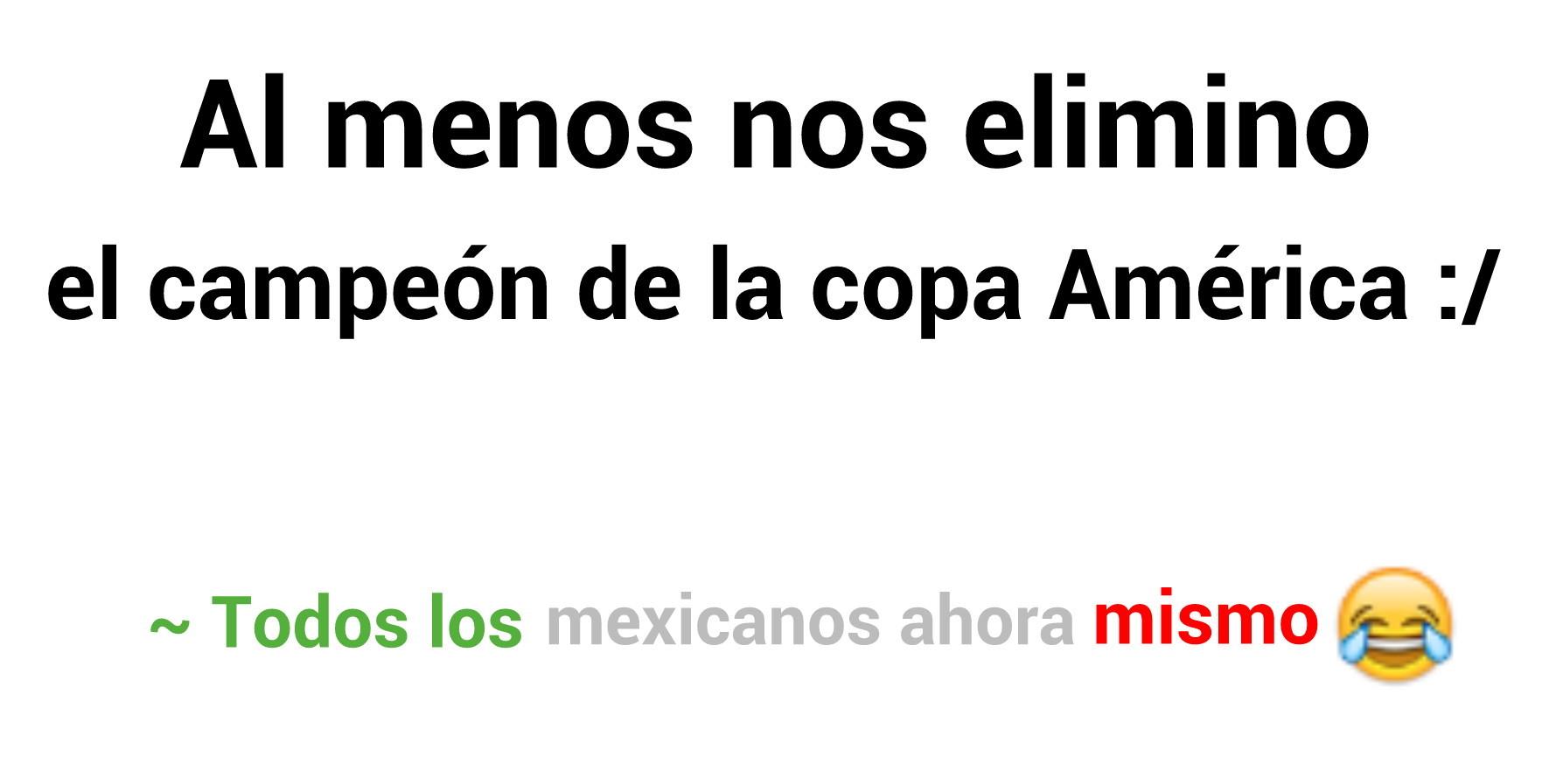 La hice y soy mexicano :'v Felicidades Chilenos ♥ >:v/ - meme
