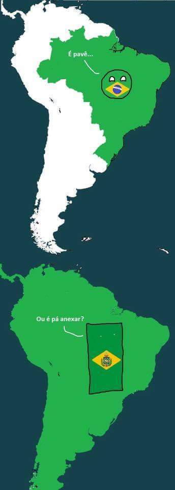 Se o marechal não tivesse dado o golpe da República nada disso teria acontecido (créditos a Brasilball) - meme