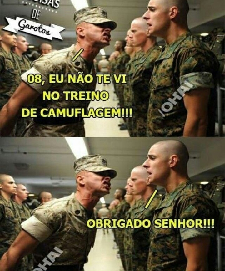Boa soldado - meme