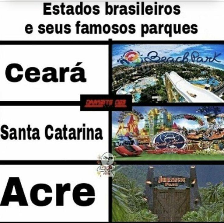 famosos parques... - meme