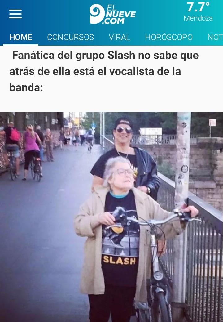 La banda Slash - meme