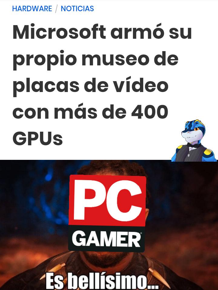 Tengo nueva PC - meme