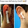 The new AirPods by Oral B