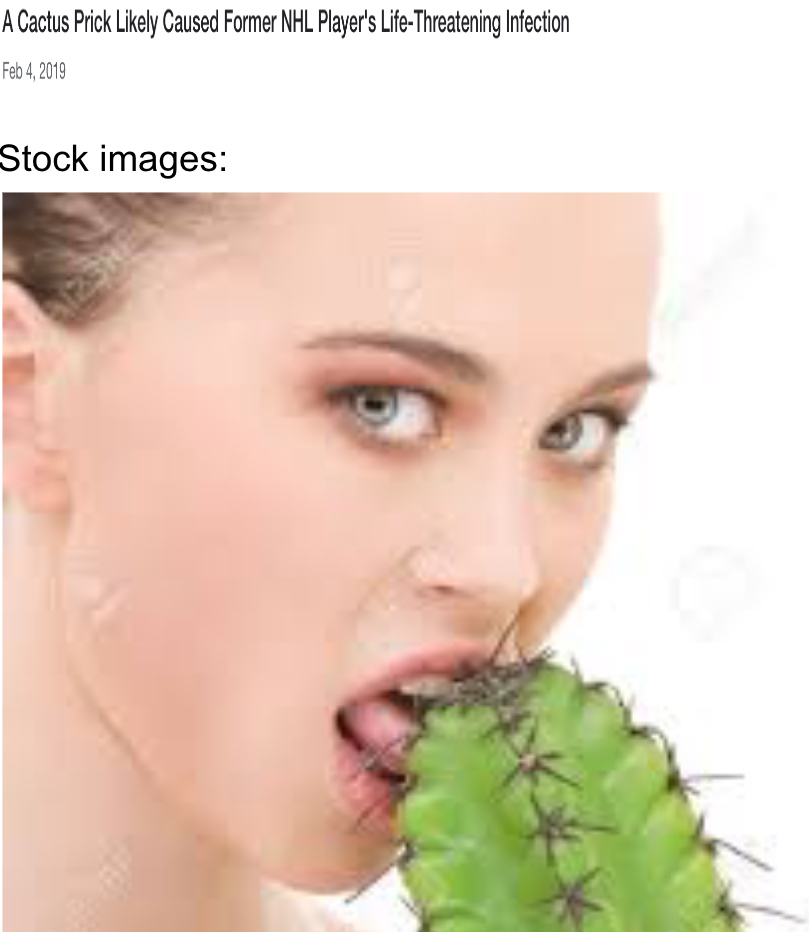 Stock images putting woman in danger - meme