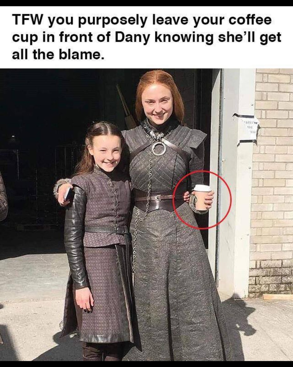 Sansa is the best player - meme